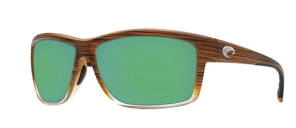 Costa Del Mar Mag Bay Polarized Wood Brown Fade Sunglasses -