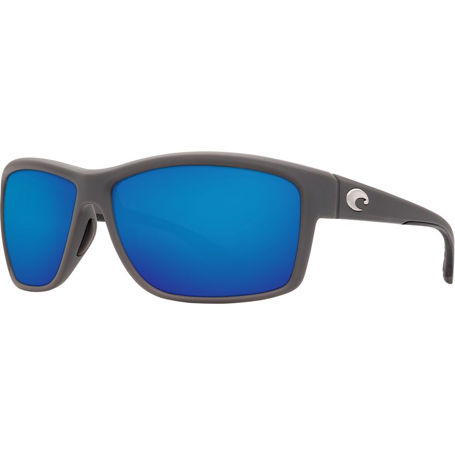 Costa Del Mar Mag Bay Polarized Matte Gray Sunglasses -