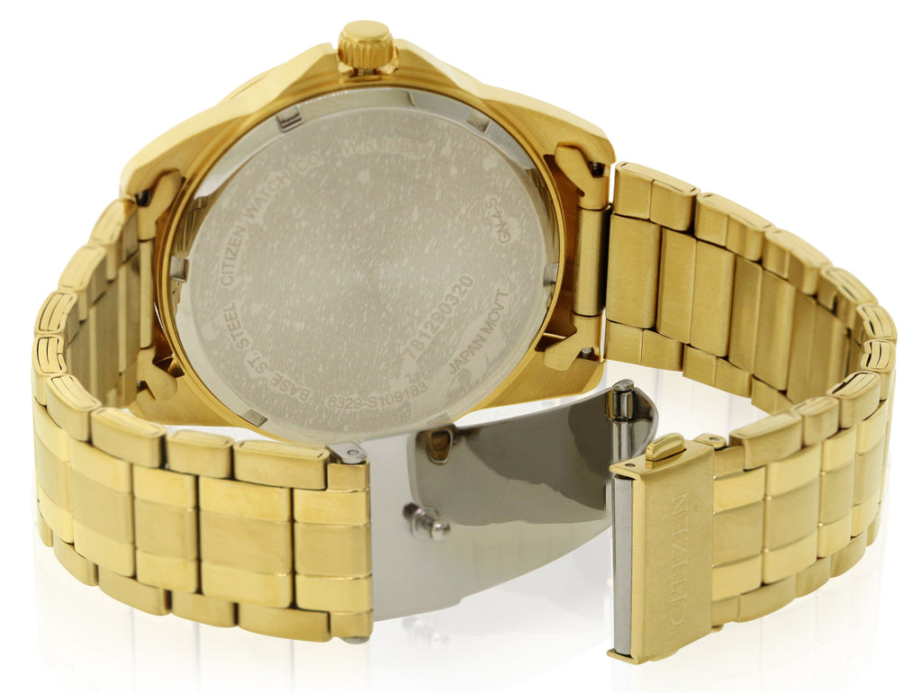 Citizen Quartz Gold-Tone Mens Watch