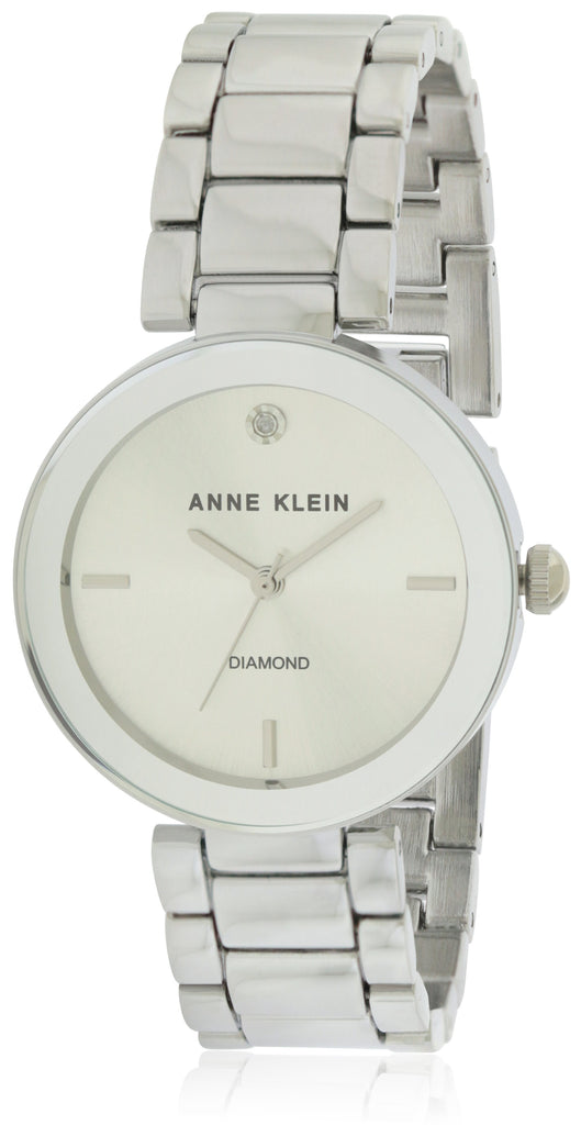 Anne Klein Silver Alloy Ladies Watch