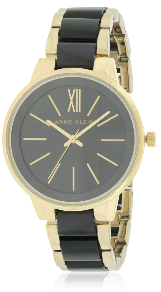 Anne Klein Two-Tone Resin Ladies Watch