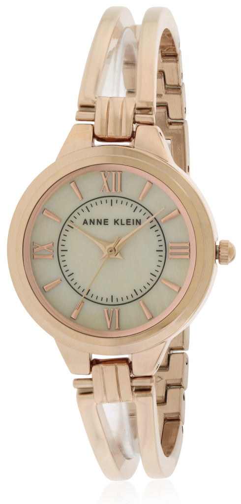 Anne Klein Rose Gold-Tone Alloy Ladies Watch