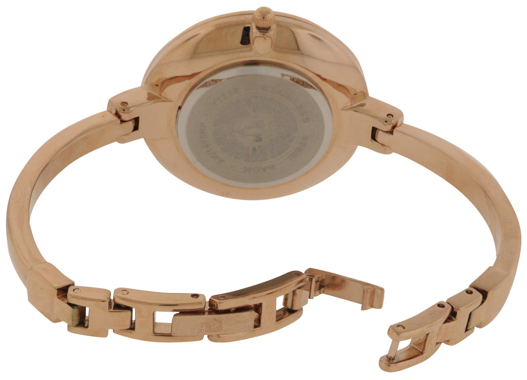 Anne Klein Rose Gold-tone Watch and Bracelet Set Ladies Watch
