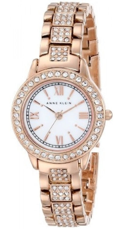 Anne Klein Rose Gold-Tone Ladies Watch
