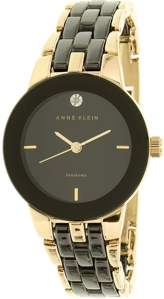 Anne Klein Two-Tone Ceramic Ladies Watch