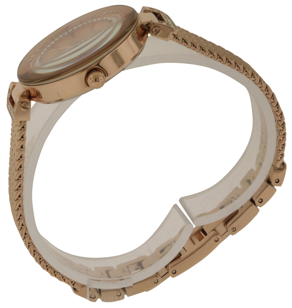 Anne Klein Rose Gold-Tone Stainless Steel Ladies Watch