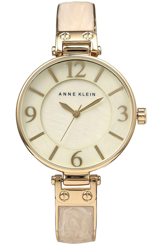 Anne Klein Gold-Tone Metal Ladies Watch