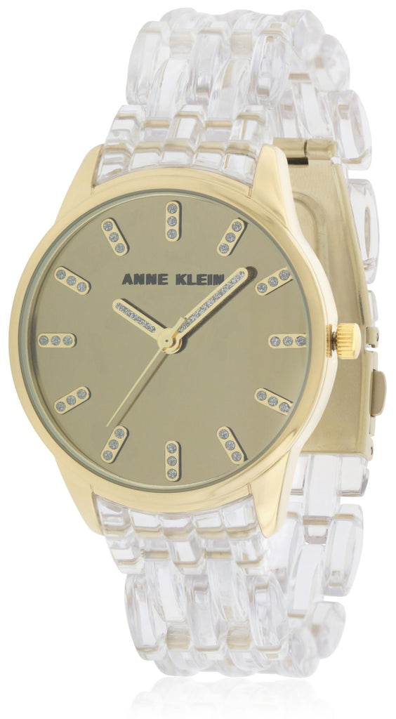 Anne Klein Transparent Resin Ladies Watch