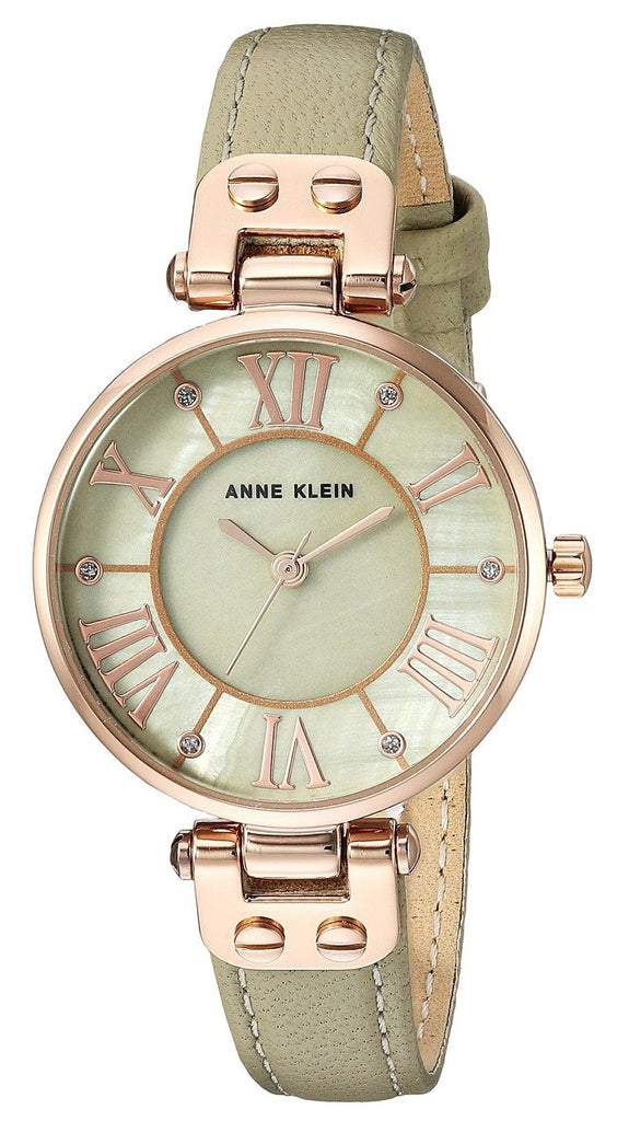 Anne Klein Leather Ladies Watch