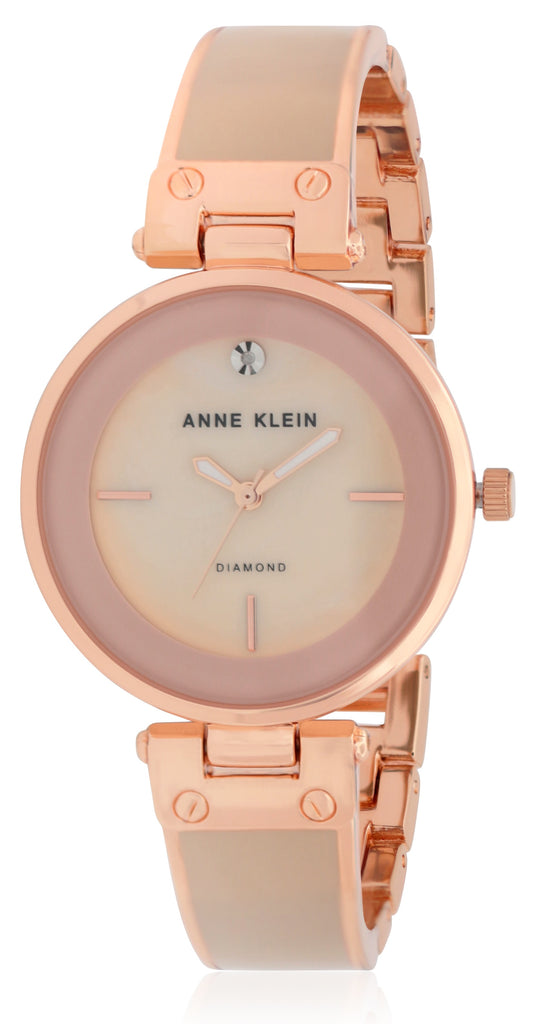 Anne Klein Women's Classic Watch Quartz Mineral Crystal