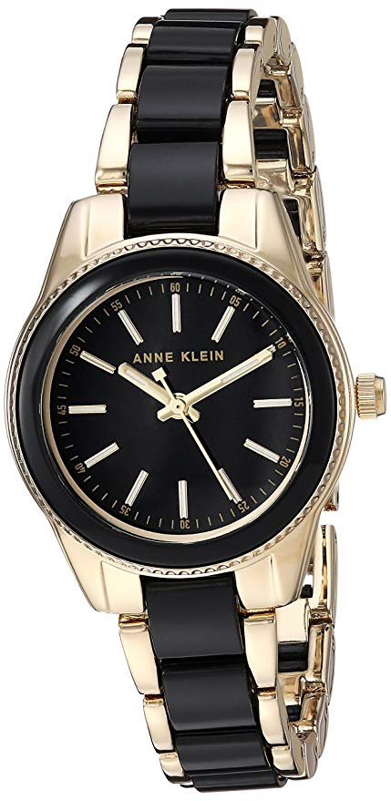 Anne Klein Gold-Tone Resin Ladies Watch