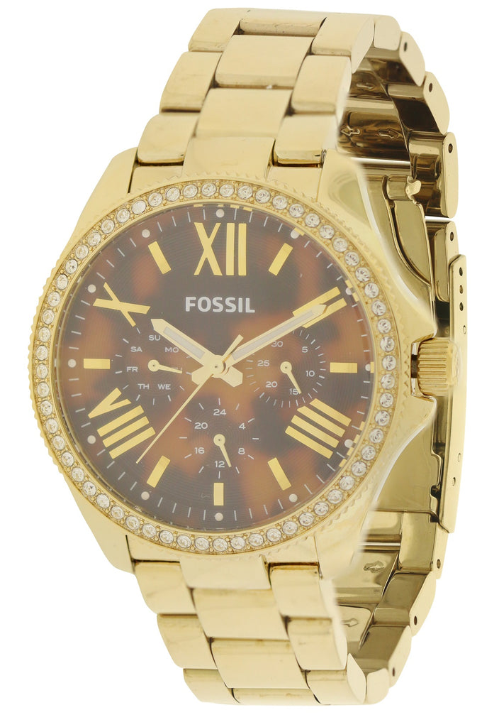 Fossil Cecile Gold-Tone Ladies Watch