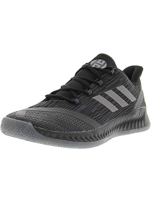 adidas Harden B/E X Shoes - Mens Basketball Sneakers 9 Black/Dark Grey