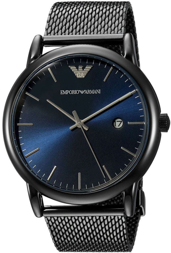Emporio Armani Stainless steel mesh Mens Watch