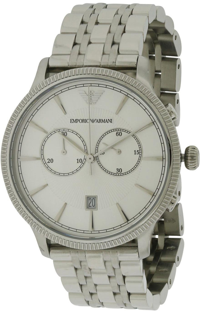 Emporio Armani Classic Stainless Steel Mens Watch