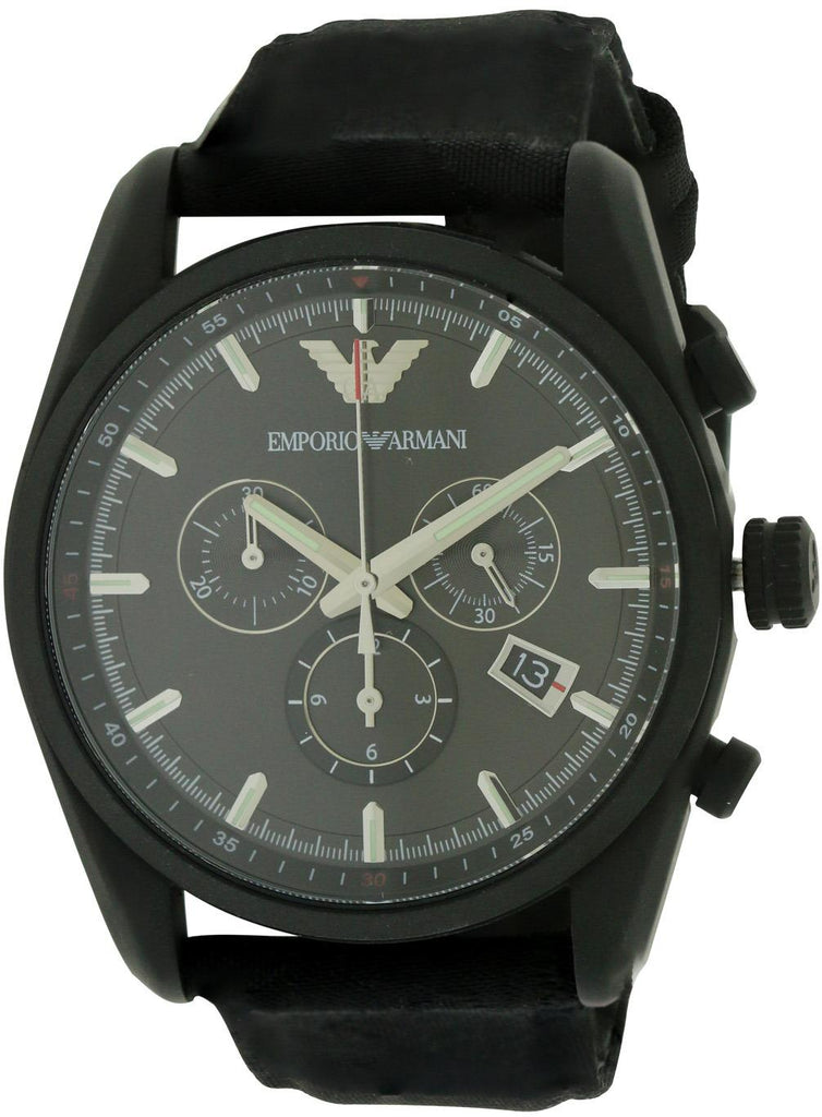 Emporio Armani Sport Canvas Mens Watch