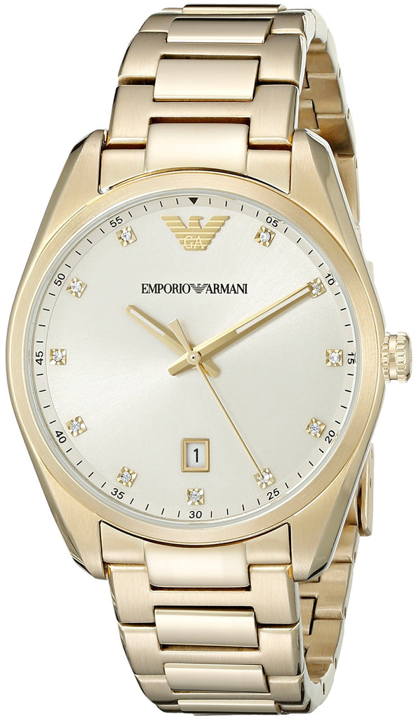 Emporio Armani Gold-Tone Ladies Watch