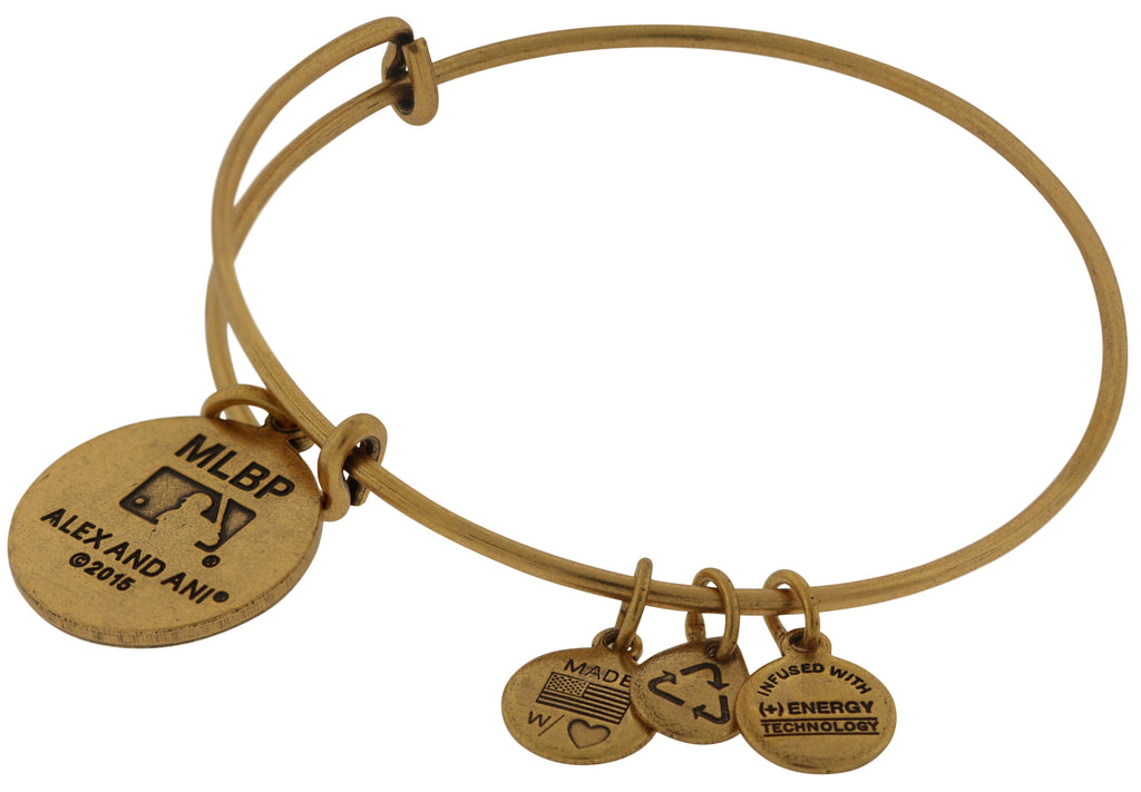 Alex And Ani New York Mets Charm Bracelet -