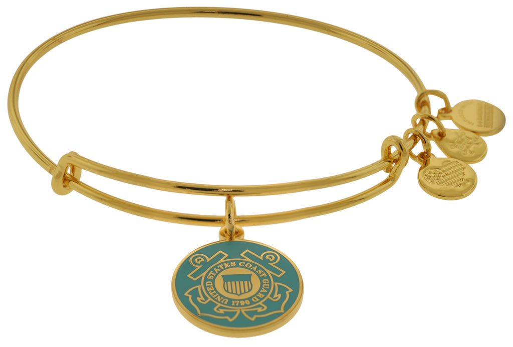 Alex and Ani U.S. Coast Guard Charm Bangle -