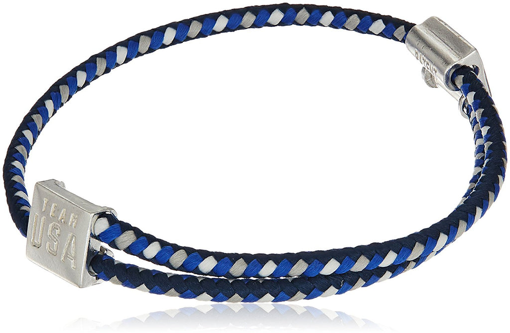 Alex and Ani Hope Rope Blue Bangle Bracelet -
