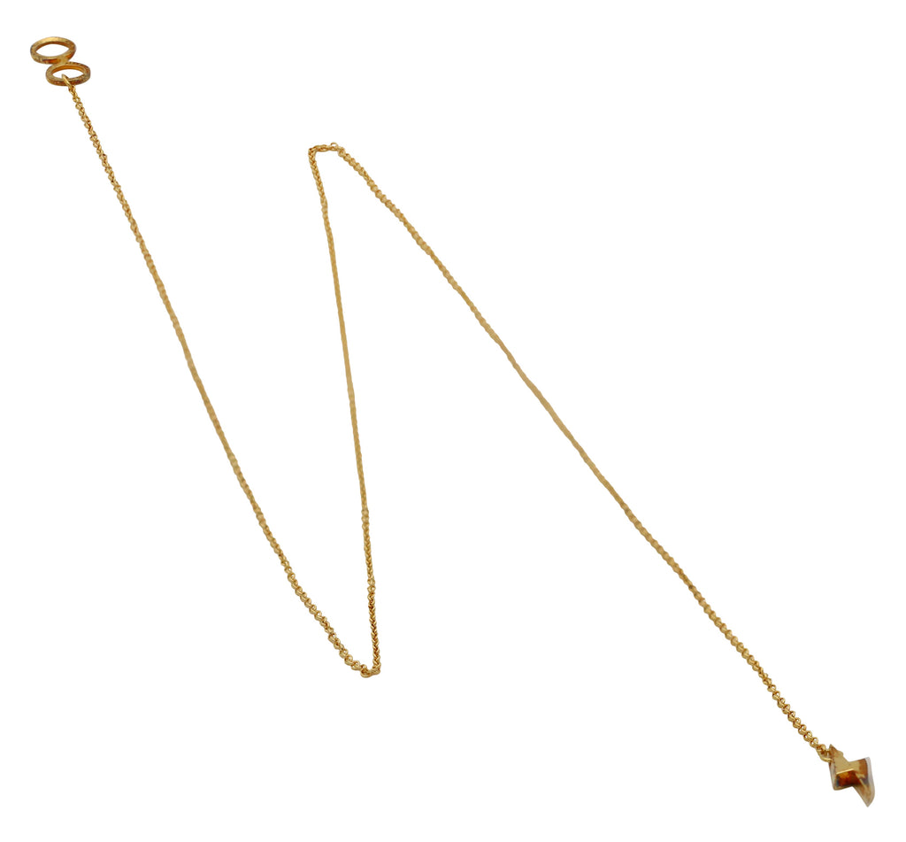 Alex And Ani Harry Potter Glasses Lariat 18 in Necklace - 14kt Gold Plated