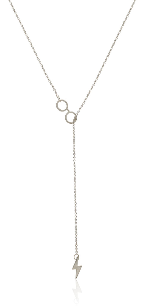 Alex And Ani Harry Potter Glasses Lariat 18 in Necklace - Sterling Silver