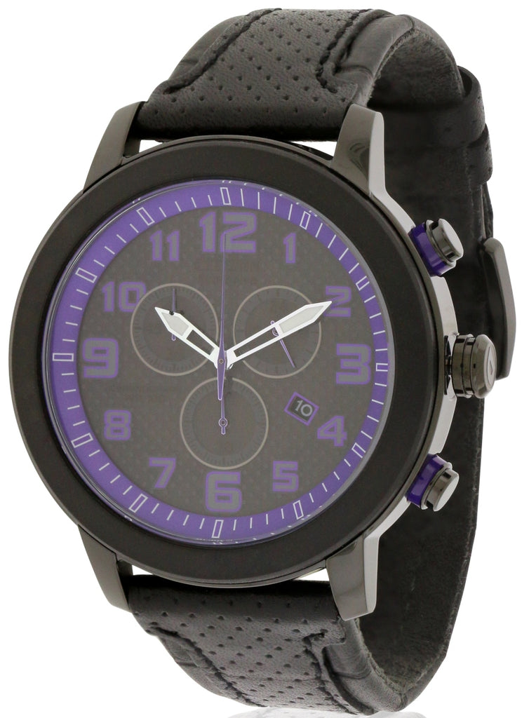 Citizen DRIVE BRT 3.0 Chronograph Black Leather Ladies Watch