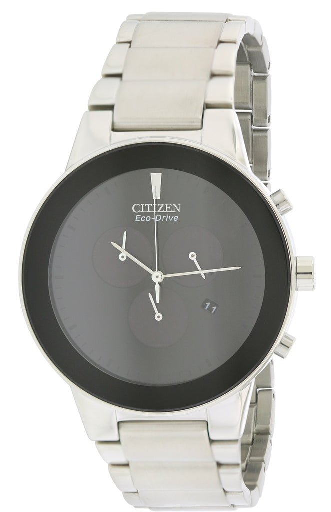 Citizen Eco-Drive Axiom Chronograph Mens Watch