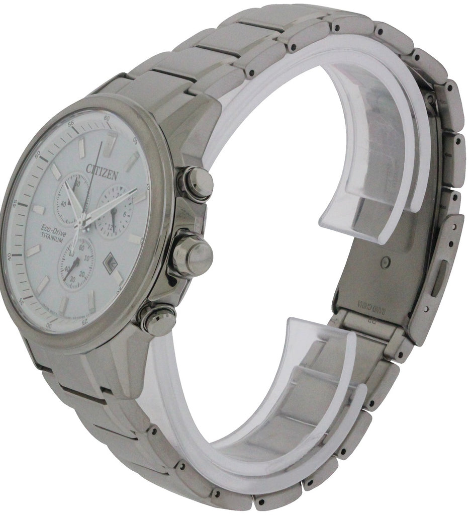 Citizen Eco-Drive Titanium Ti + IP Mens Watch
