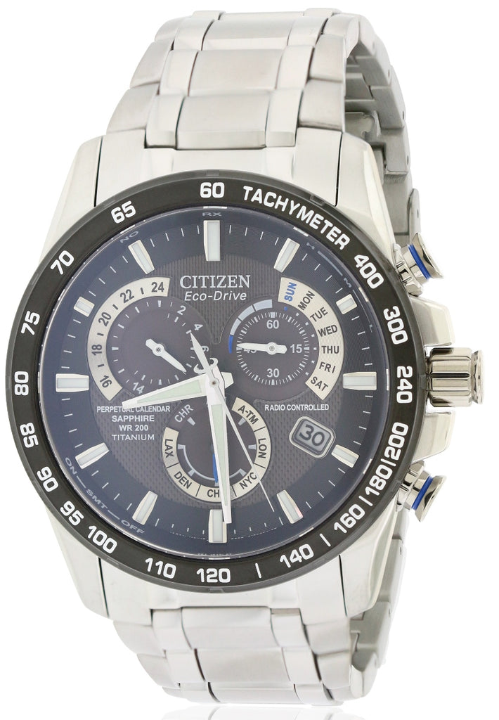 Citizen Eco-Drive Titanium   Perpetual Atomic Mens   Watch