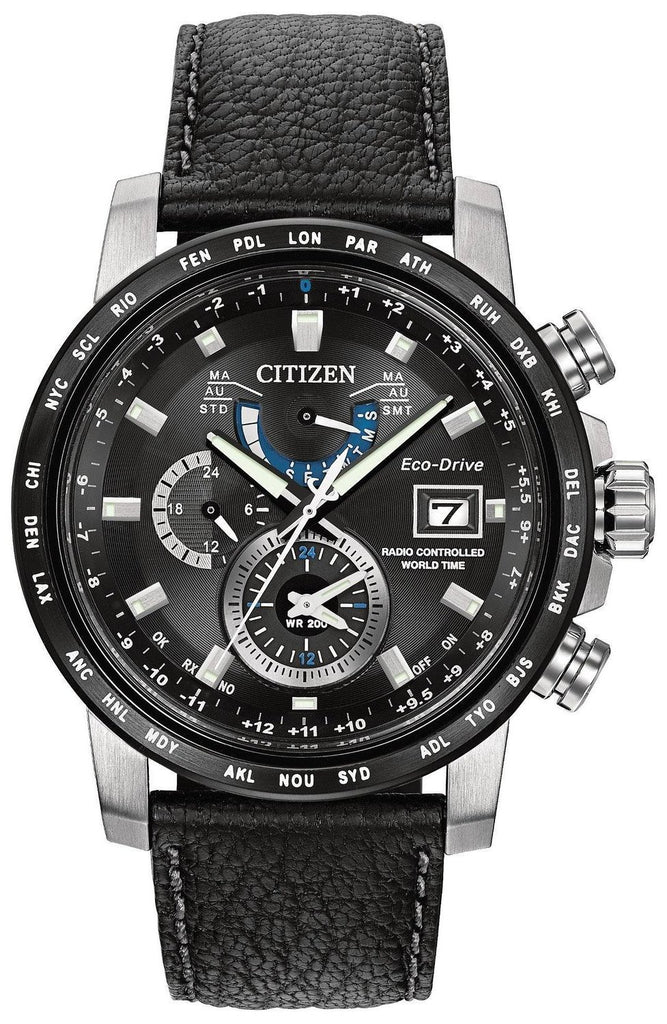 Citizen Eco-Drive World Time A-T Mens Watch