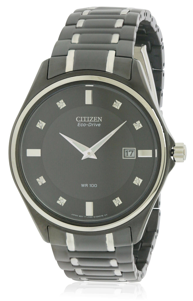 Citizen Eco-Drive Diamond Mens Watch