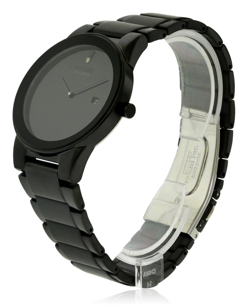 Citizen Eco-Drive Axiom Black IP Mens Watch