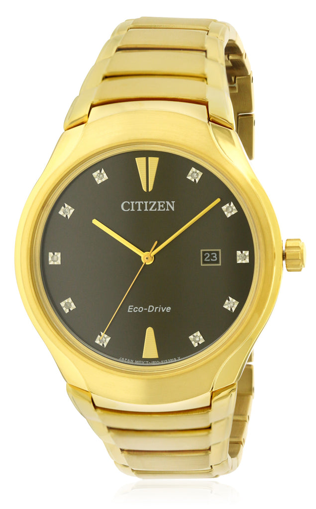 Citizen Eco-Drive Paradigm Diamond Mens Watch