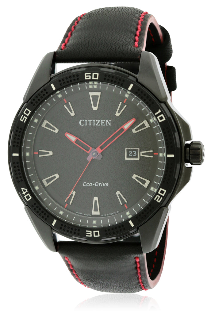 Citizen Eco-Drive AR Leather Mens Watch