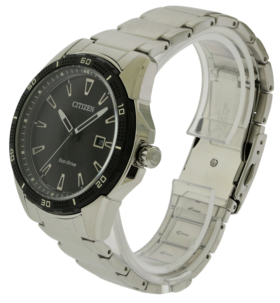 Citizen Eco-Drive AR Stainless Steel Mens Watch