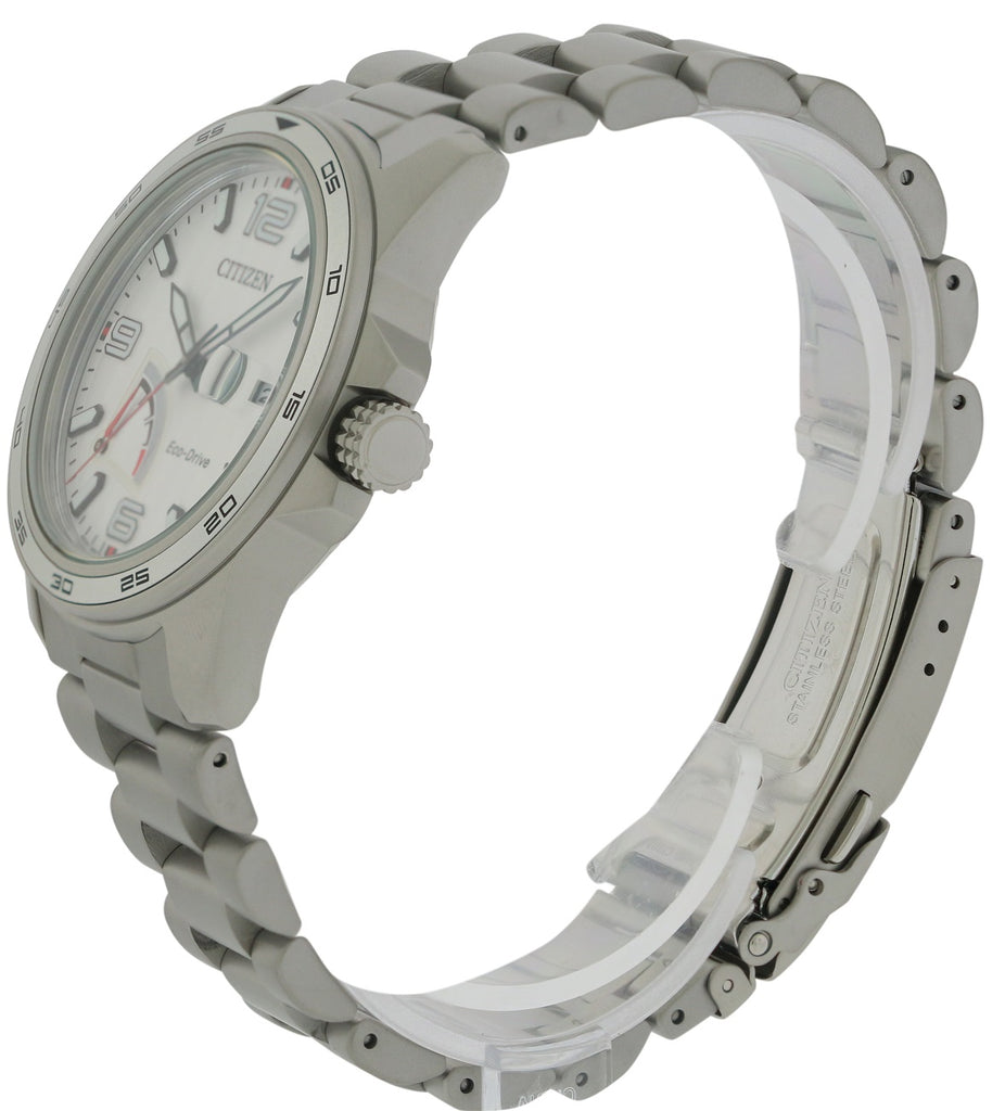 Citizen Eco-Drive PRT Stainless Steel Mens Watch