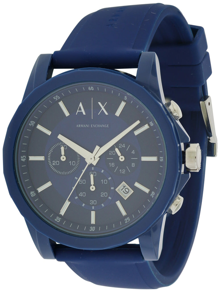 Armani Exchange Active Chronograph Rubber Mens Watch
