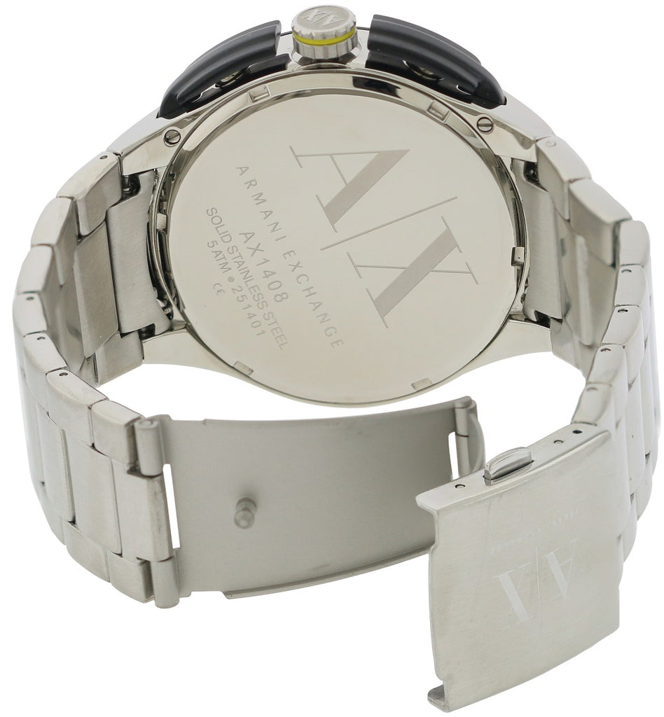 Armani Exchange Stainless Steel Mens Watch