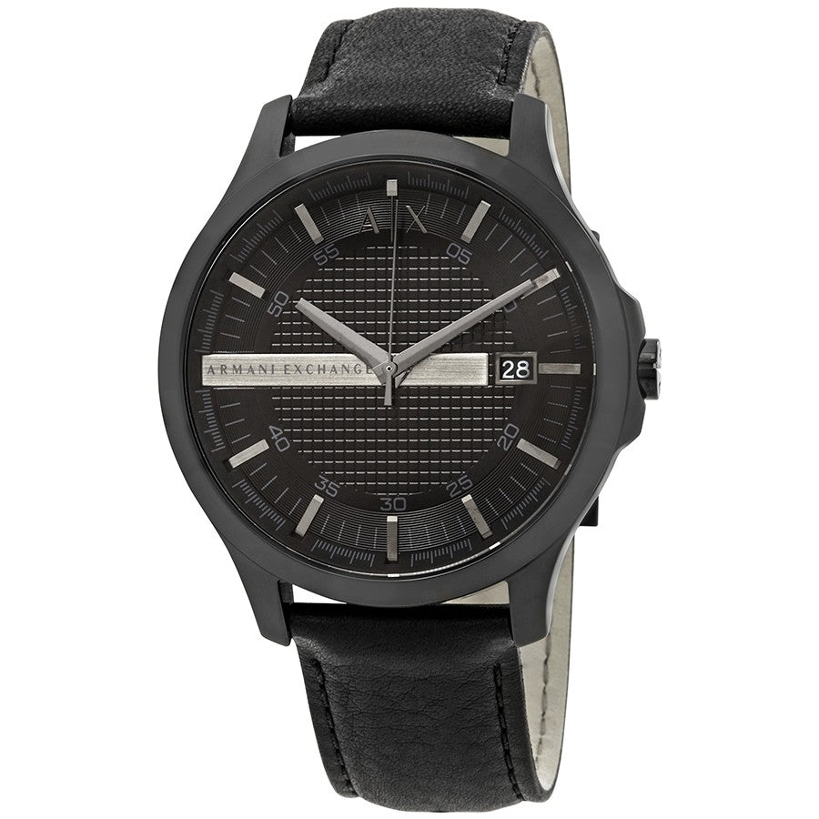 Armani Exchange Leather Mens Watch