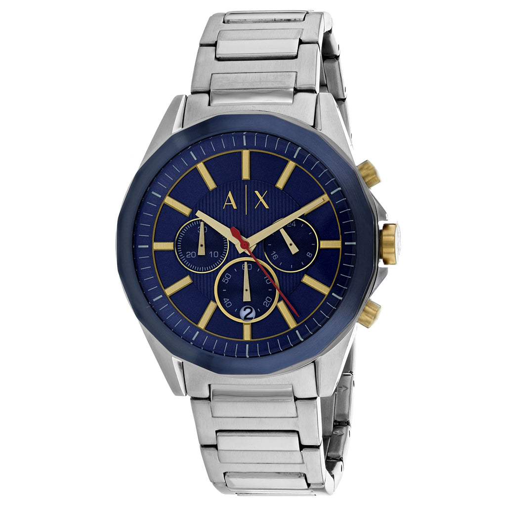Armani Exchange Chronograph Stainless Steel Mens Watch