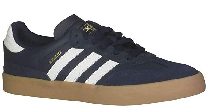 Adidas Originals Mens Busenitz Vulc ADV Fashion Sneaker Navy/Cloud White/Gum - Size 8