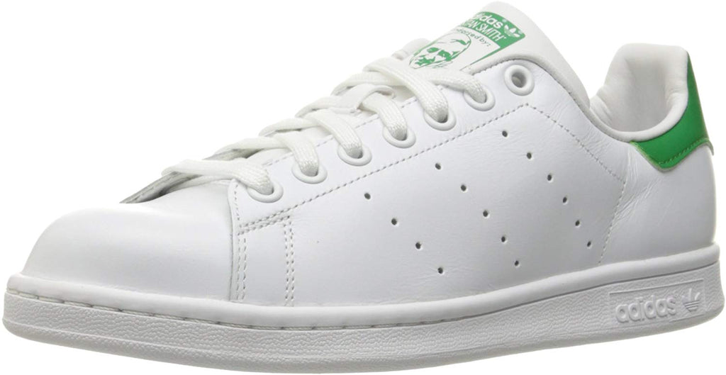 adidas Originals Womens Stan Smith Sneaker - White/Green - Size 6.5