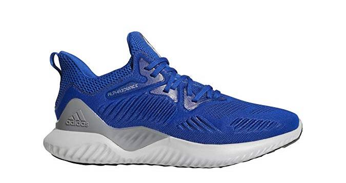 adidas Mens Alphabounce Beyond Team Running Shoes - Collegiate Royal/White/Black - 9.5 M
