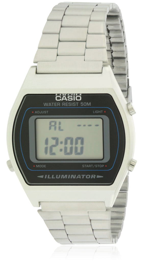 Casio Stainless Steel Alarm Chronograph Mens Watch