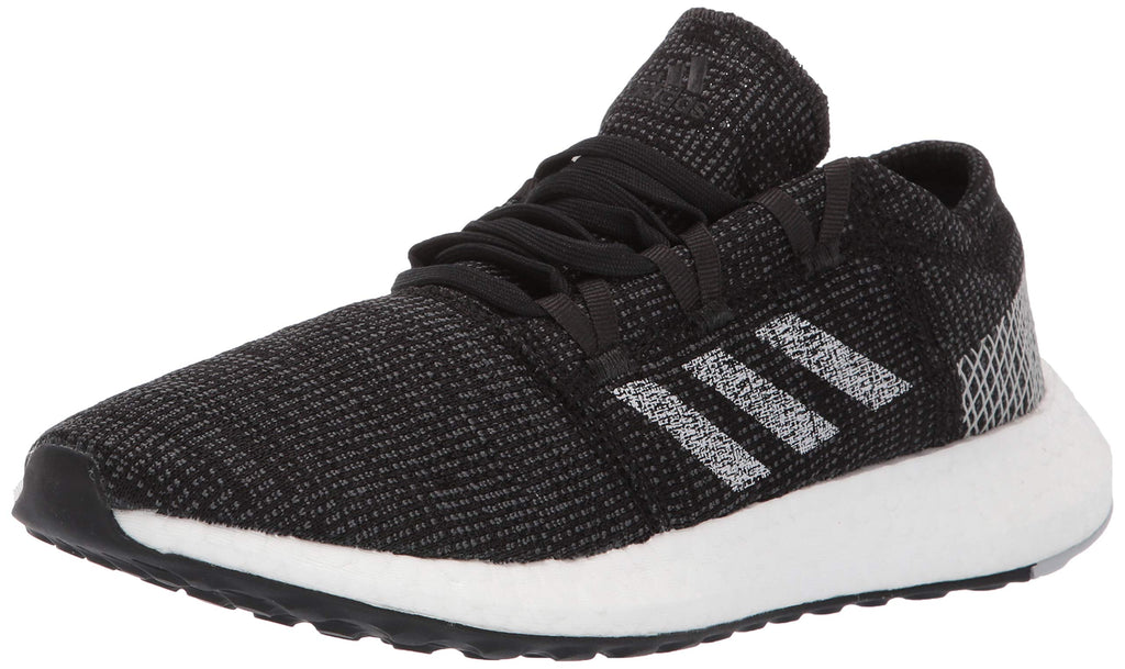 adidas Womens Pureboost Go Running Shoes - Black/Grey/Grey - 10