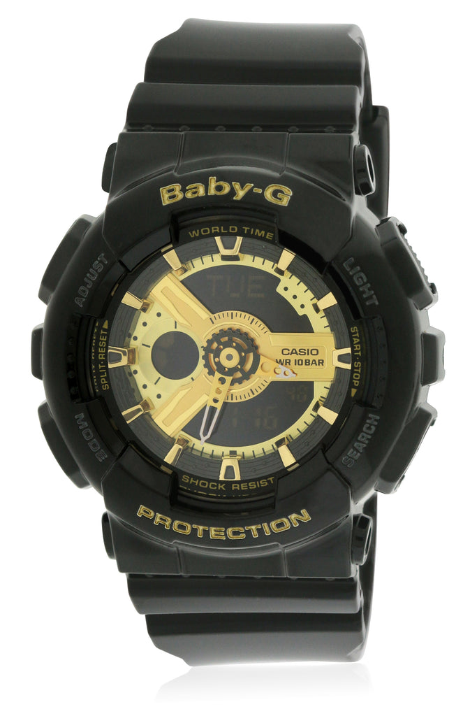 Casio Baby-G Black Ladies Watch