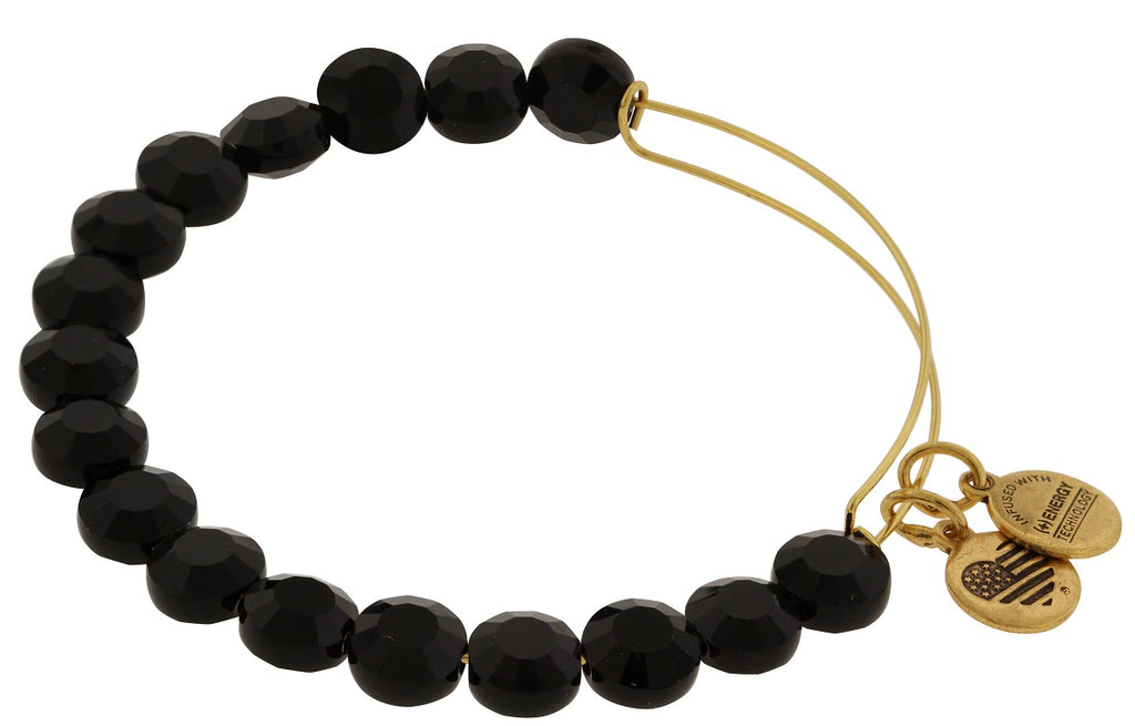 Alex and Ani Jet Luxe Bead Bangle -