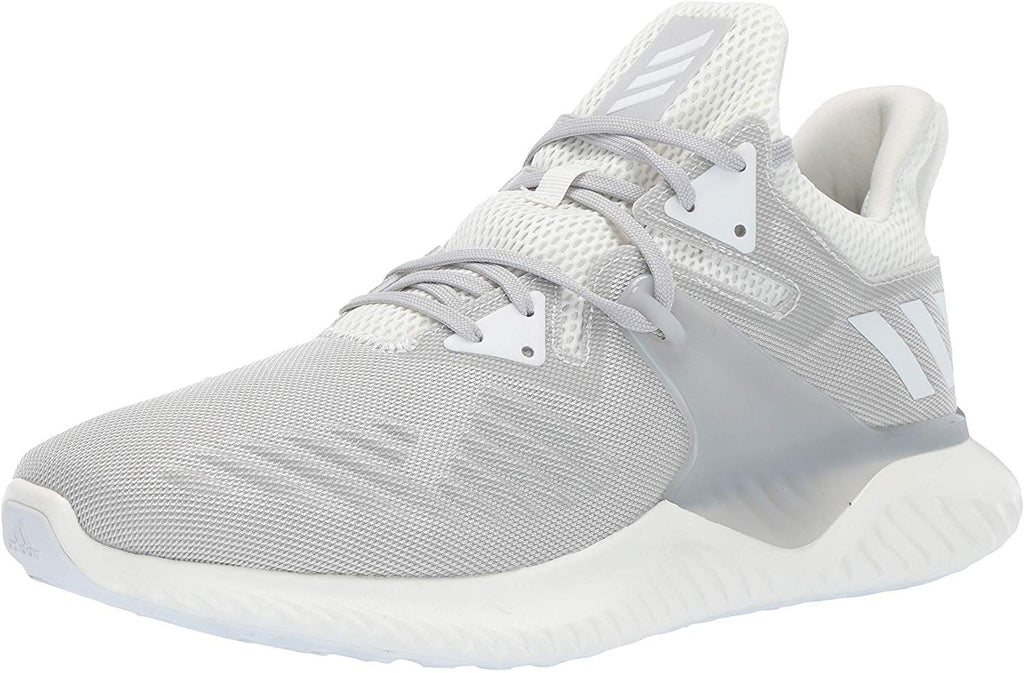 adidas Mens Alphabounce Beyond 2 Running Shoe - White/White/Grey - 9
