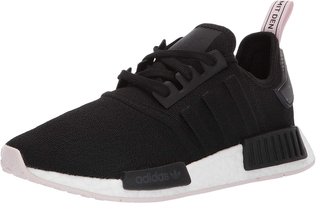 adidas Originals Womens NMD_R1 Running Shoe - Black/Orchid Tint - 9